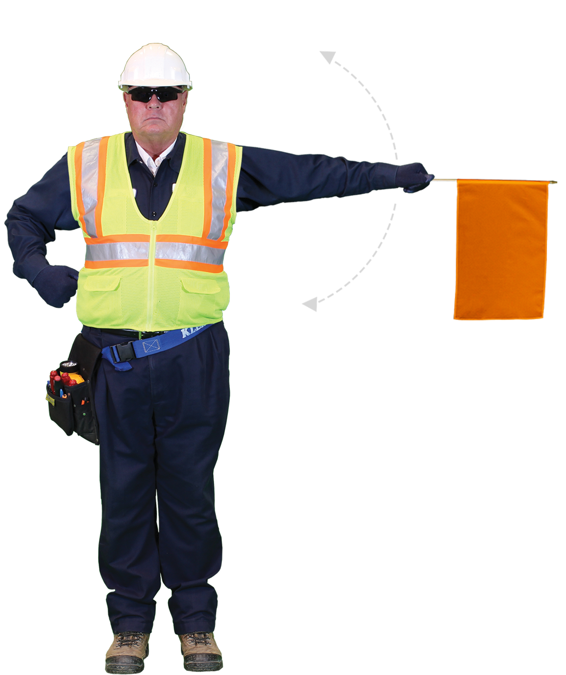 Build Your Flagman: Construction